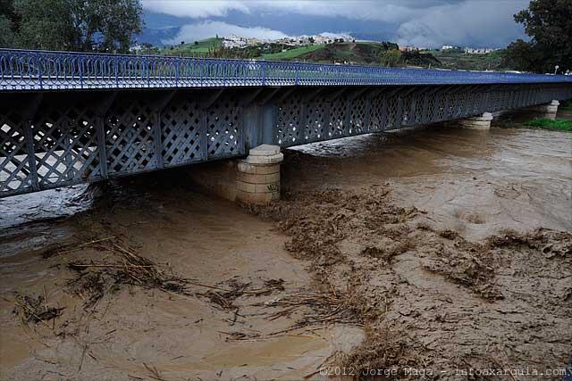 Wenn, dann richtig … Hochwasser im Río Vélez