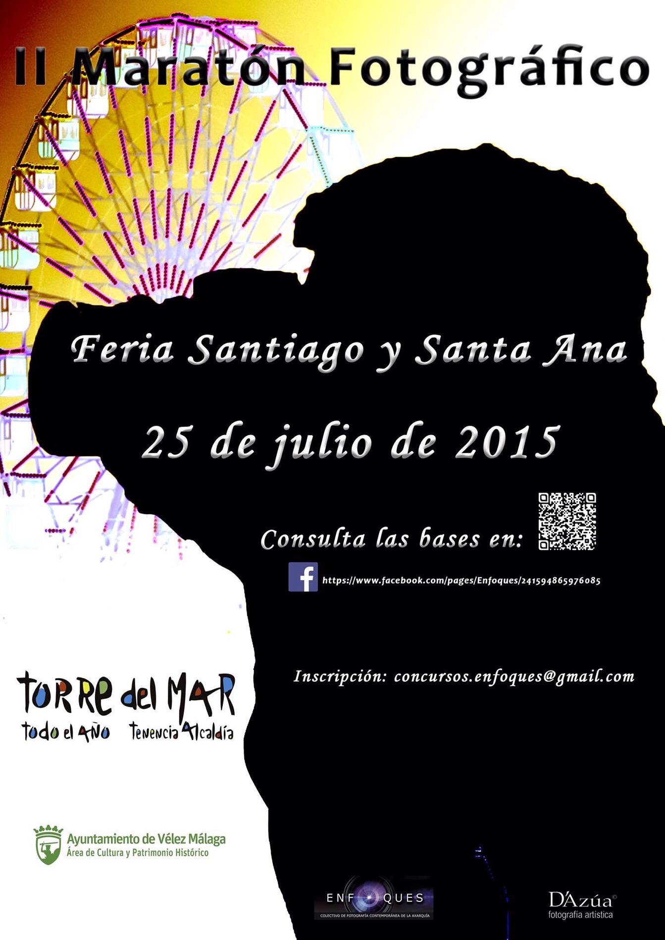 """II  Maratón  Fotográfico  Enfoques  """"Feria  de Santiago  y  Santa  Ana"""""""