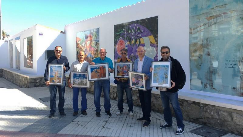 Die Wandmalereien der Strandpromenade von Torre del Mar sind komplett renoviert